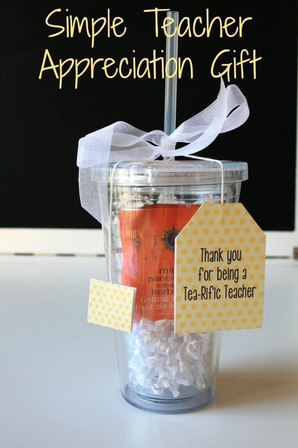 End of Year Teacher Gift Ideas