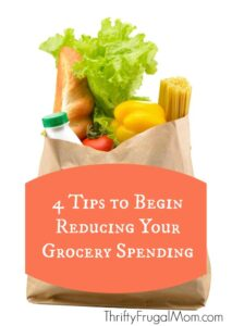 4 Tips to Begin Reducing Your Grocery Spending