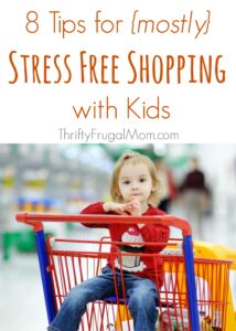 Shopping with Kids Tips