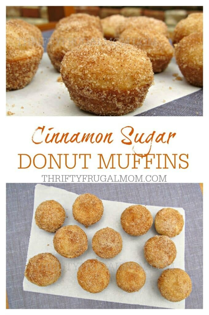 Healthier than a donut, these Cinnamon Sugar Donut Muffins are just as delicious and perfect to munch on anytime!