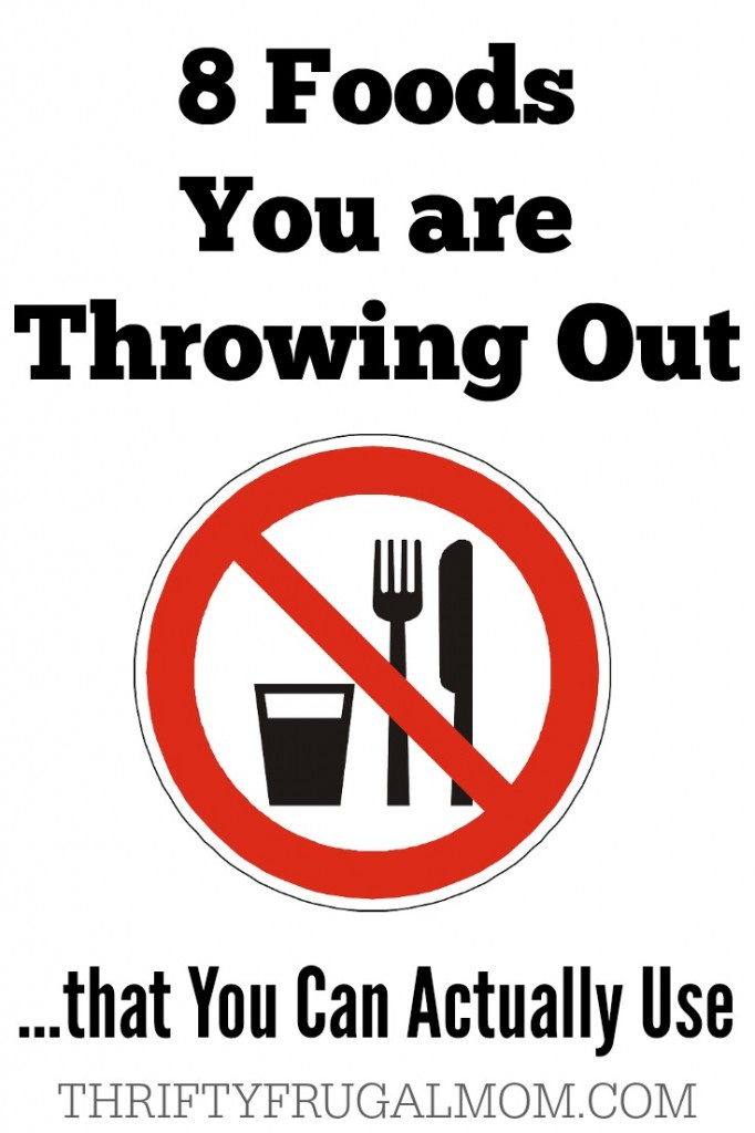 Foods You Throw Out Reuse
