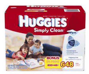 Amazon: Huggies Wipes 648 ct. for $9.37!