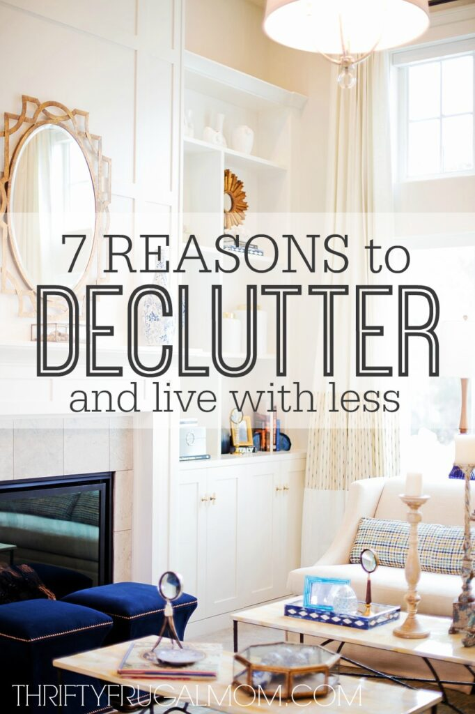 Need motivation to simplify and declutter? Here are the 7 things that I was surprised to learn when I purged our home of over 168 things!