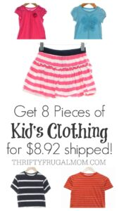 Schoola: $15 Off Your 1st Order = 8 Items of Kid's Clothing for $8.92 Shipped!