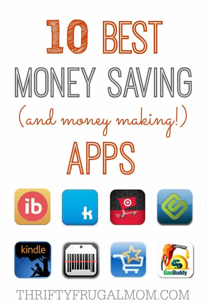 The best money saving apps that will help you save BIG! Some months I save enough with them to cover the cost of our cell phone bill!