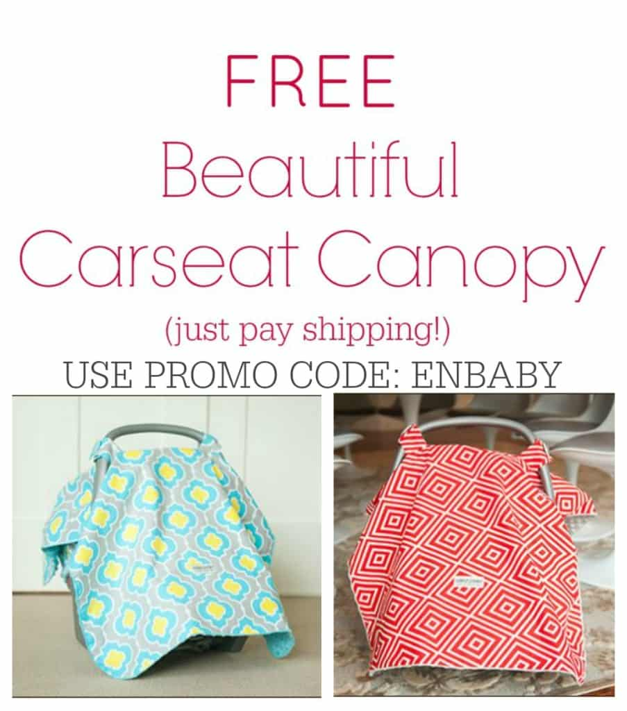 Free Carseat Canopy Collage2