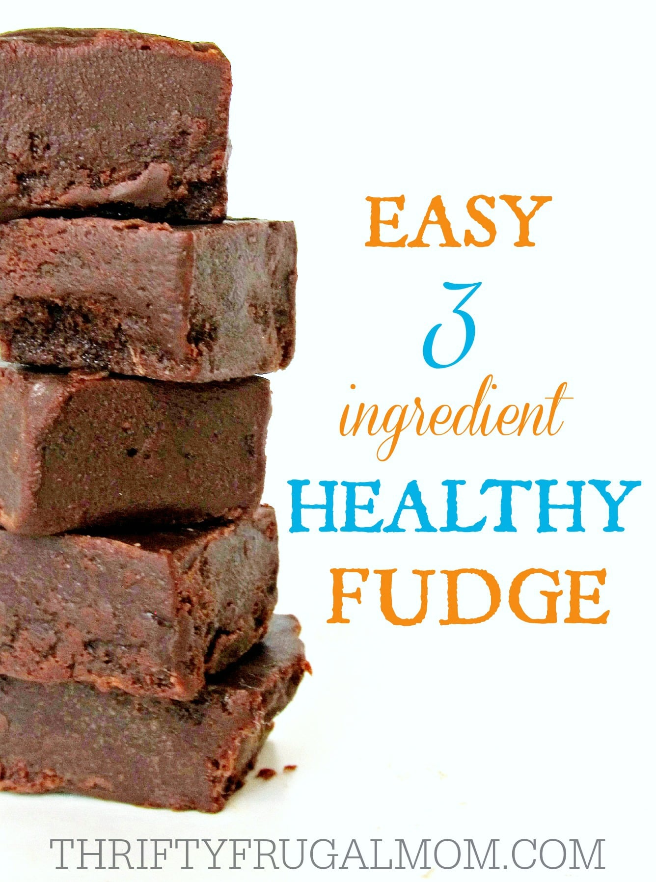 Easy 3 ingredient Healthy Fudge- made with just coconut oil, honey and ...