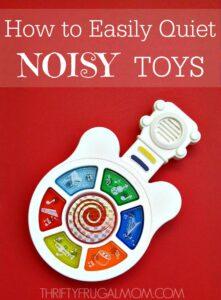 How to Quiet Noisy Toys original