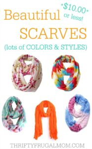 18 Beautiful, Inexpensive Summer Scarves