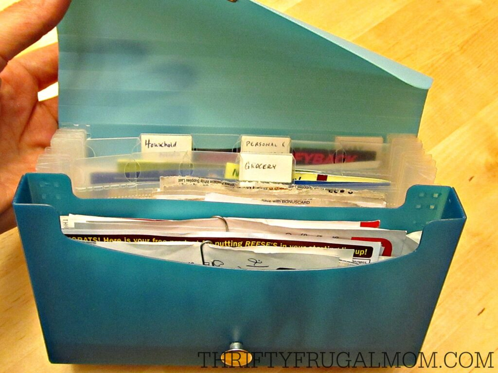 How I Plan My Grocery Trips (coupon organizer)