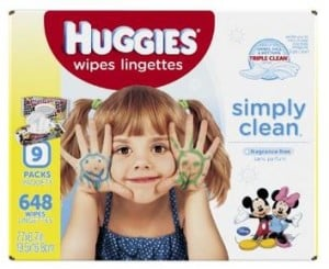 Amazon: Huggies Wipes 648 ct. for $9.69