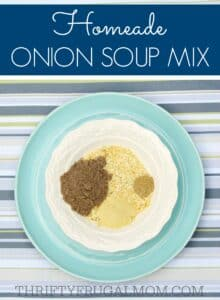 Homemade Onion Soup Mix navy