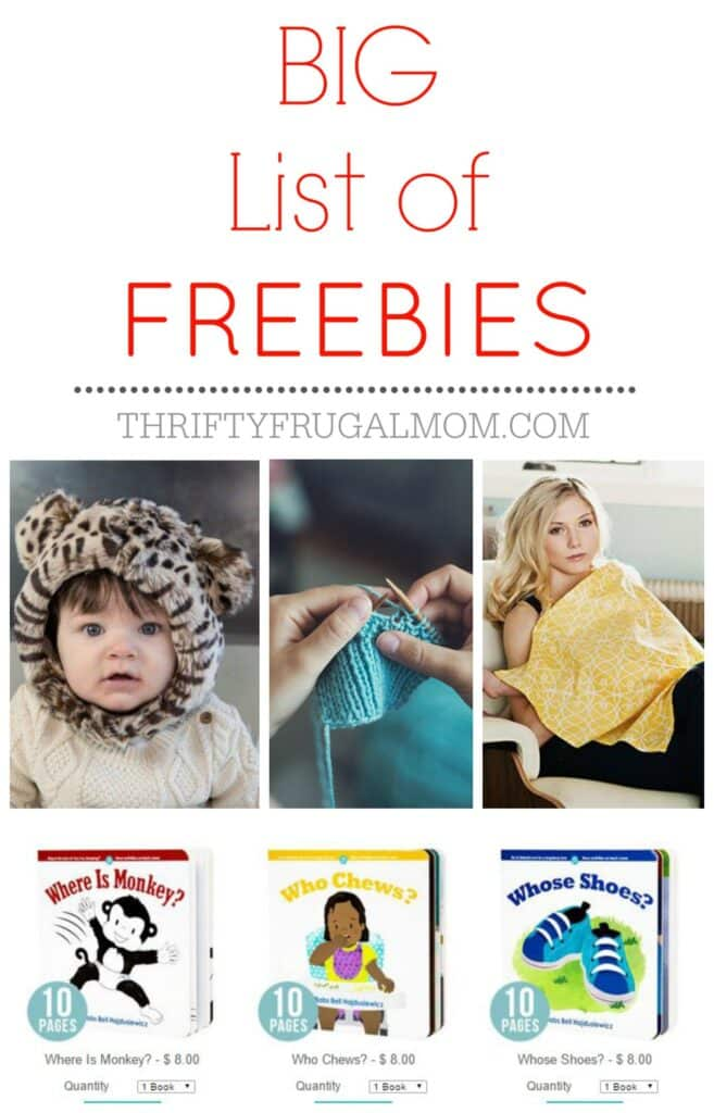 Big List of Freebies
