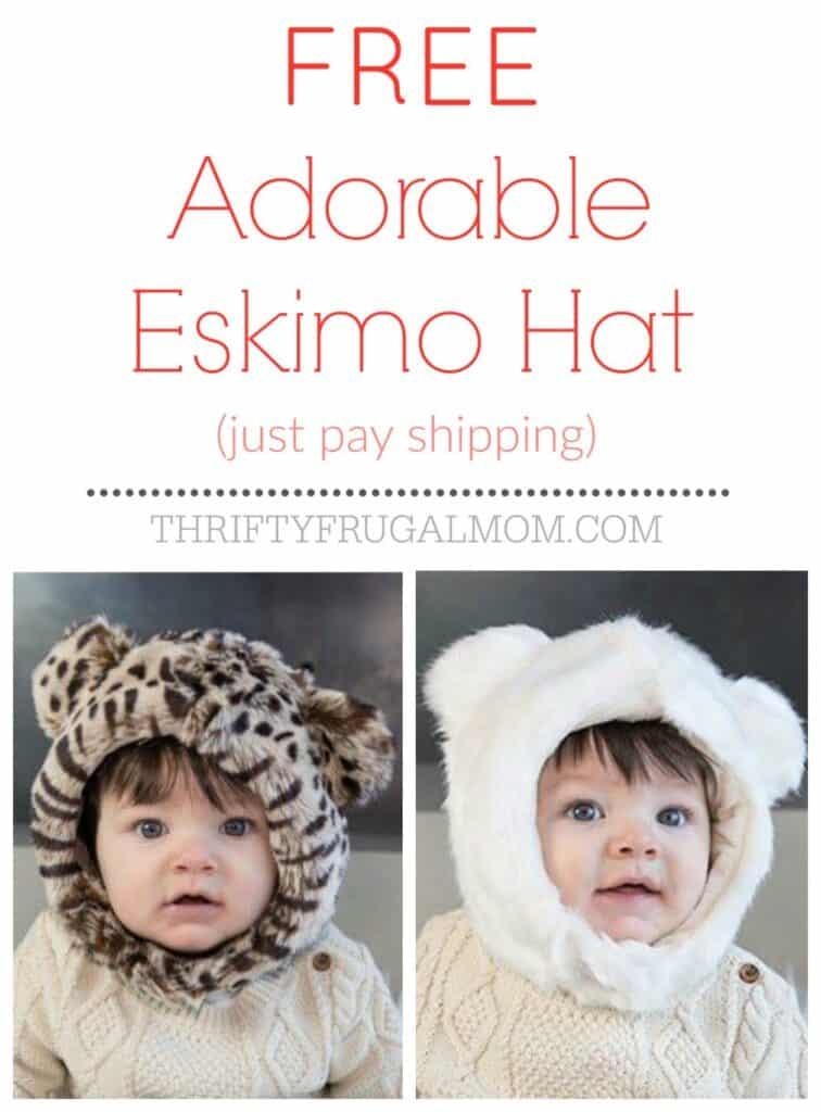 Free Eskimo Baby Hat