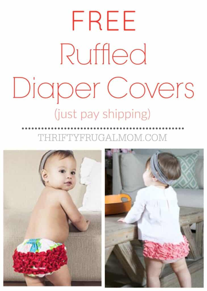 Free Ruffled Diaper Cover Baby Bloomer