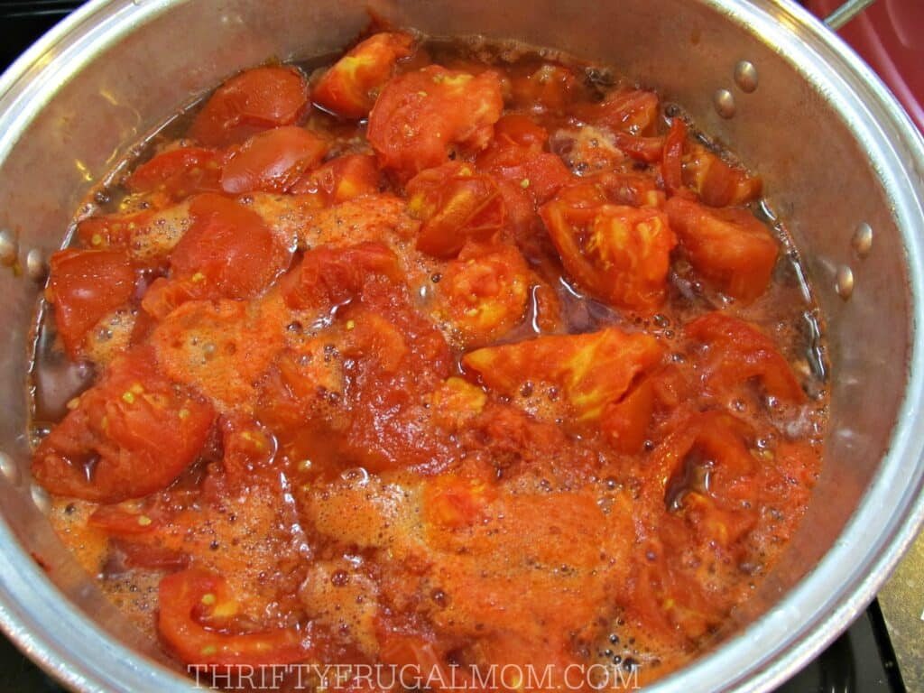 How to Make and Can Tomato Juice (cooked)