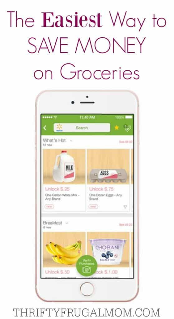 Ibotta App- easiest way to save money on groceries