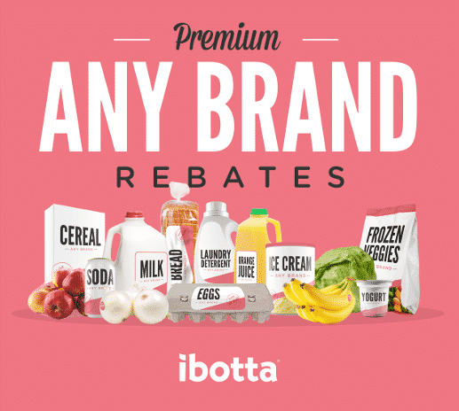 Ibotta save on groceries any brand