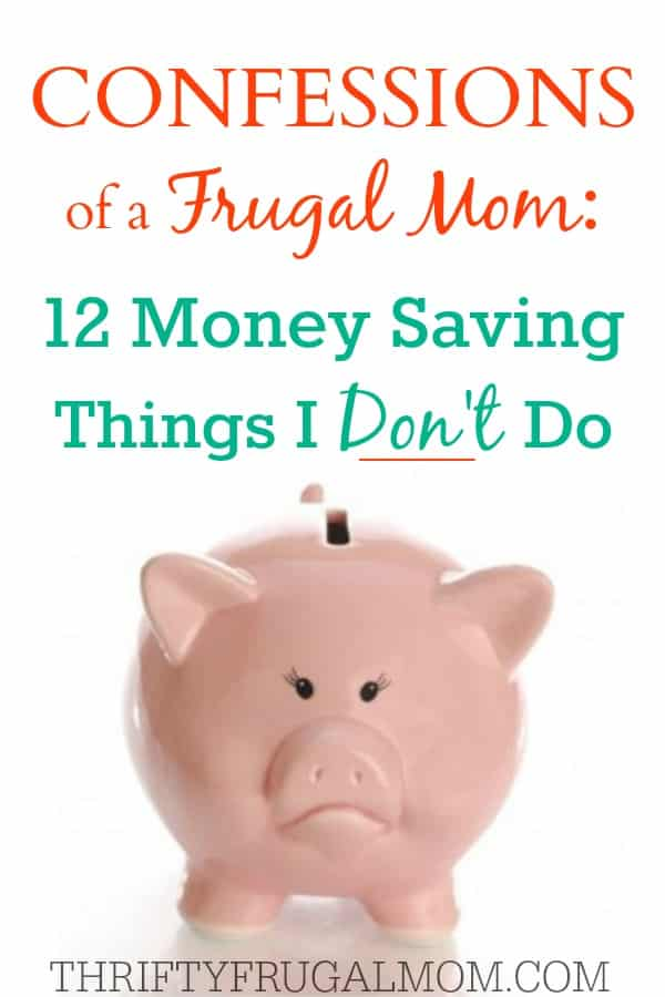 Confessions of a Frugal Mom- best frugal living posts