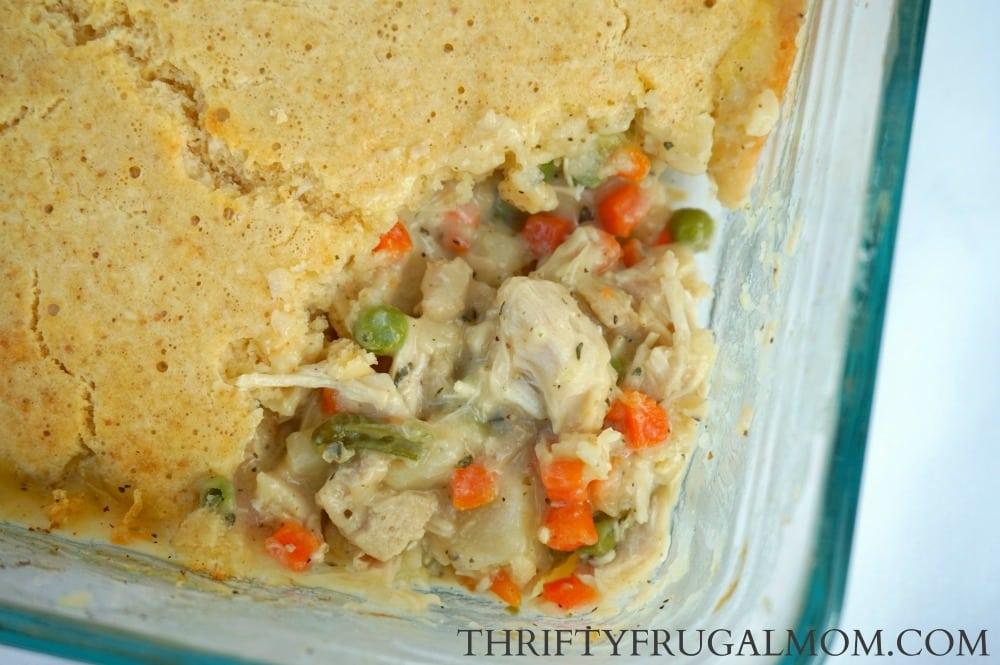 Easy Chicken Pot Pie- a cheap meal idea