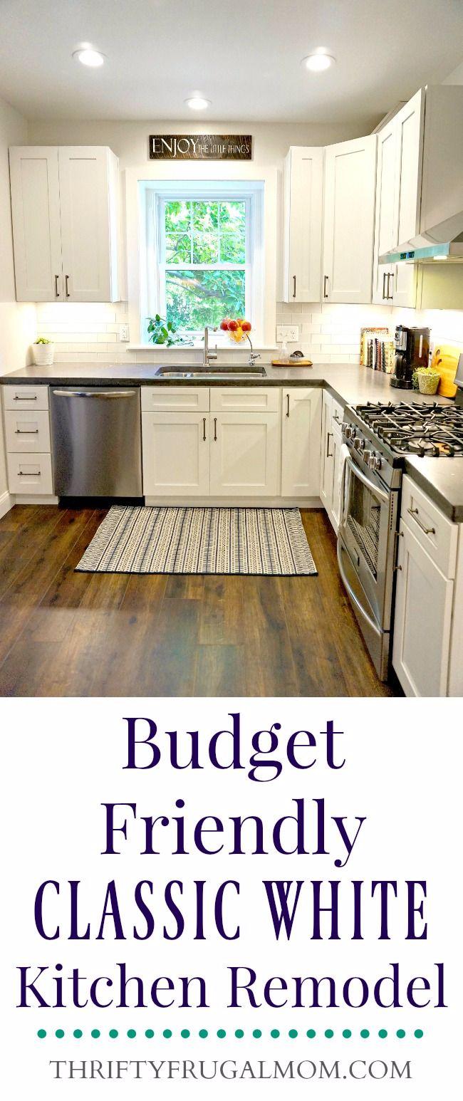 Budget Friendly Kitchen Remodel